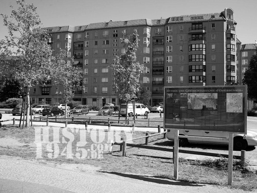 Führerbunker Berlin heute