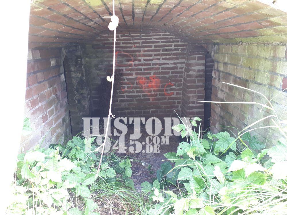 Luftschutzbunker von innen in Callantsoog