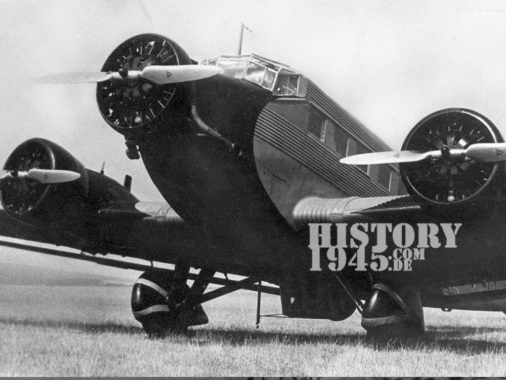 Junker Ju-52 Absturz Twistetal Nieder-Waroldern
