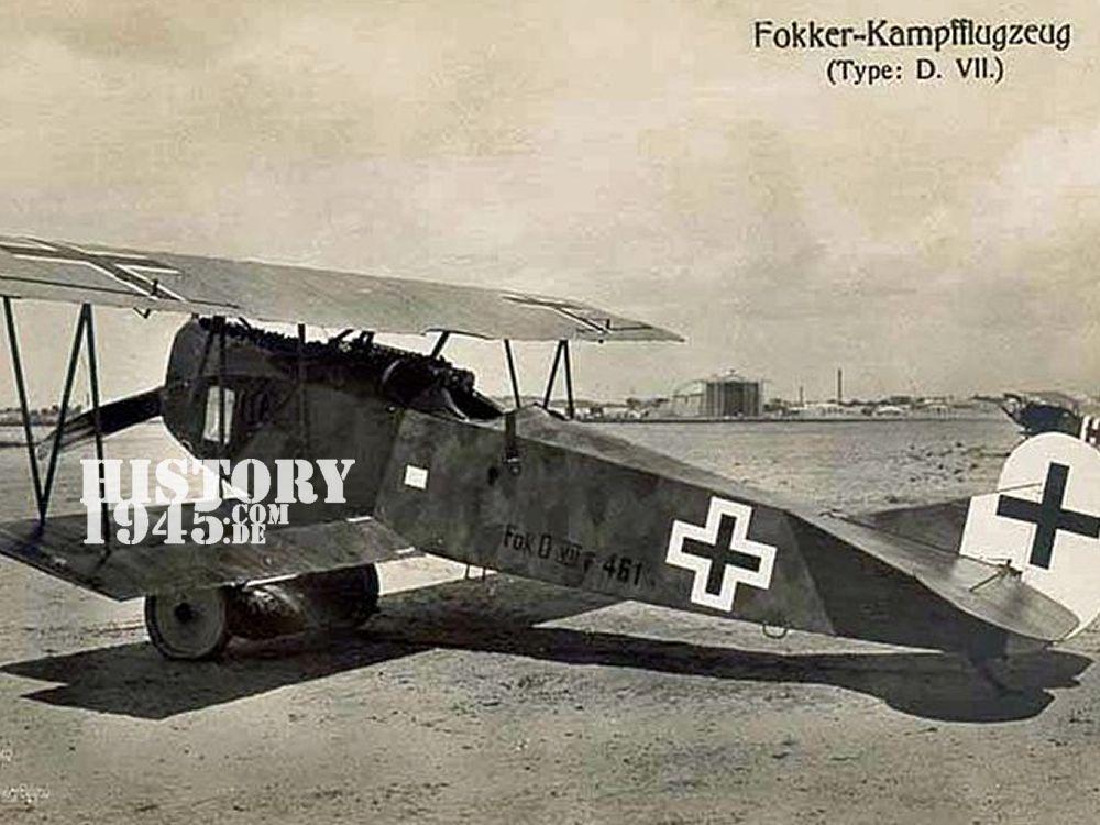 Fokker Doppeldecker Fürstenberg